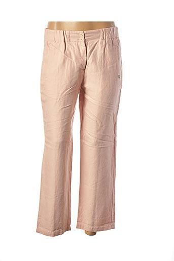 Pantalon 7/8 rose OTTOD'AME pour femme