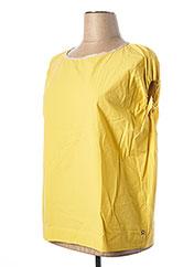 Blouse manches courtes jaune OTTOD'AME pour femme seconde vue