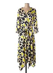 Robe mi-longue vert MANILA GRACE pour femme seconde vue