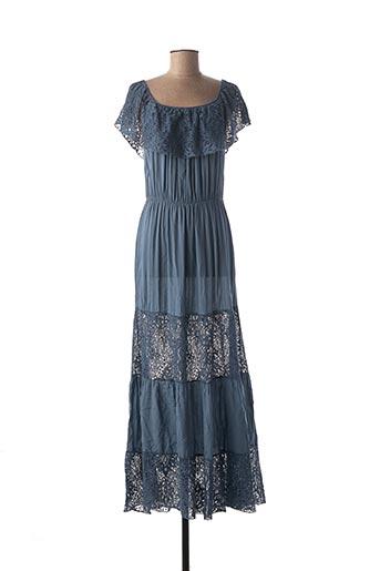 Robe longue bleu BKINI pour femme