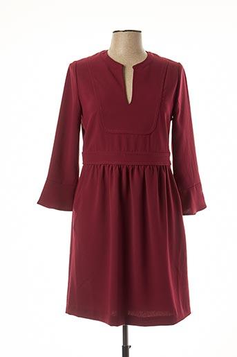 Robe mi-longue rouge ATHÉ pour femme