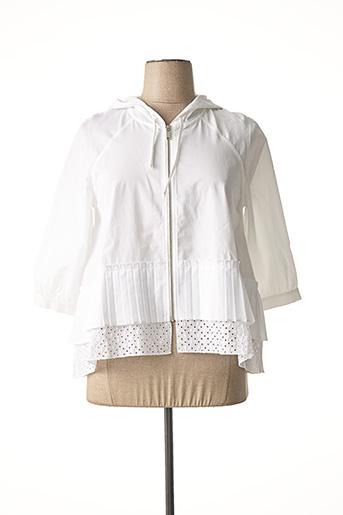 Veste casual blanc HANA SAN pour femme