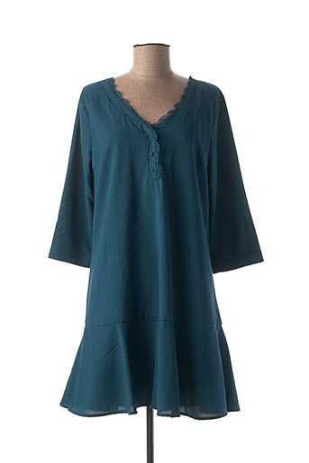 Robe courte bleu CERISE BLUE pour femme