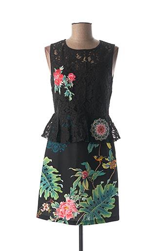 Robe courte noir 101 IDEES pour femme