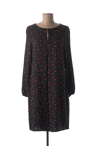 Robe courte noir STREET ONE pour femme