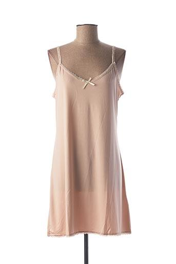 Robe courte rose CREAM pour femme