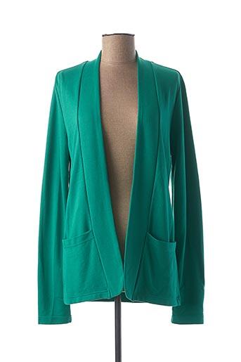 Veste casual vert GEISHA pour femme
