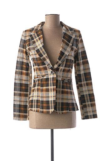 Veste chic / Blazer marron NEW COLLECTION pour femme