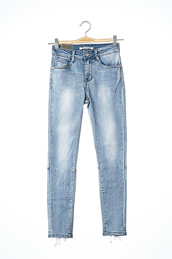 Jeans skinny bleu MISS TWO pour femme