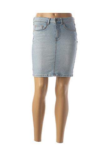 Jupe courte bleu GEISHA pour femme