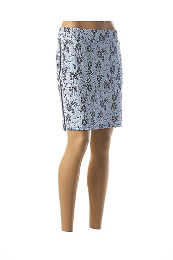 Jupe courte bleu STREET ONE pour femme
