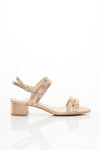 Sandales/Nu pieds rose BASTA COSI pour femme