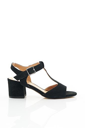 Sandales/Nu pieds noir ROSEMETAL pour femme