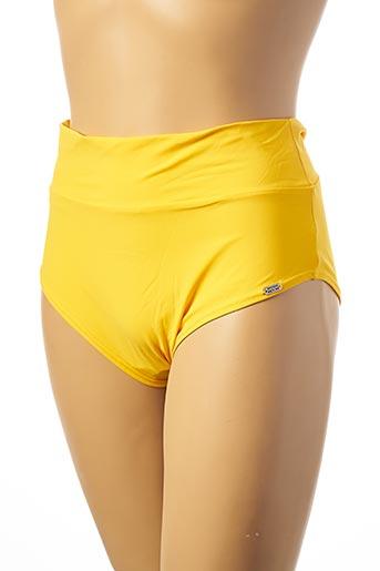 Bas de maillot de bain jaune BANANA MOON pour femme