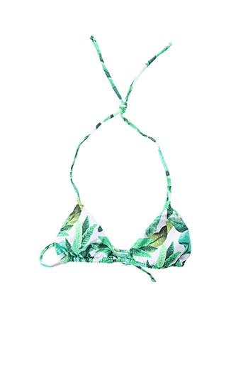 Haut de maillot de bain vert RIO DE SOL pour femme