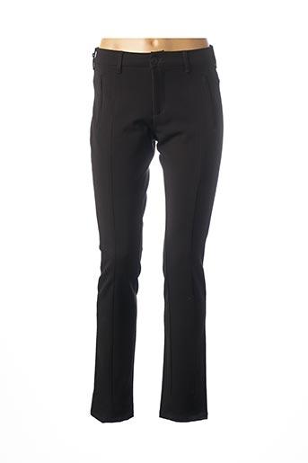 Pantalon chic noir DESGASTE pour femme