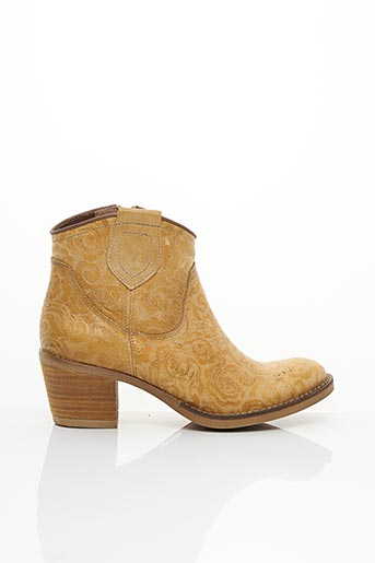 Bottines/Boots beige CONNIVENCE pour femme
