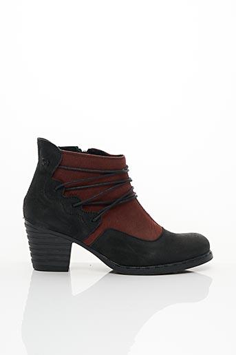 Bottines/Boots rouge ALCE pour femme