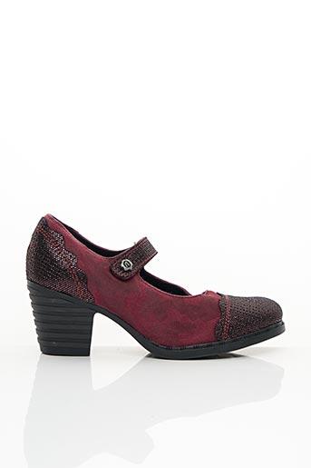 Escarpins rouge ALCE pour femme