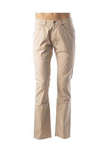 Pantalon casual beige KARL LAGERFELD pour homme