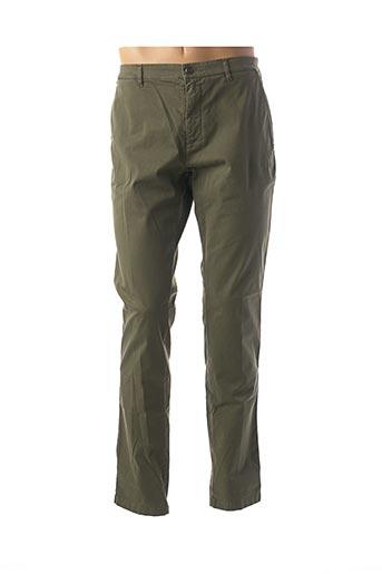 Pantalon casual vert COLMAR pour homme