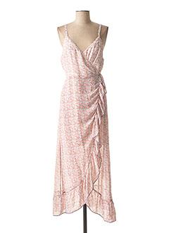Robe longue rose LILI & LALA pour femme