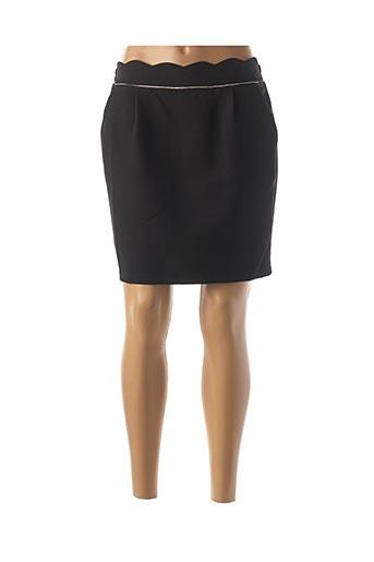 Jupe courte noir EMMA & ELLA pour femme