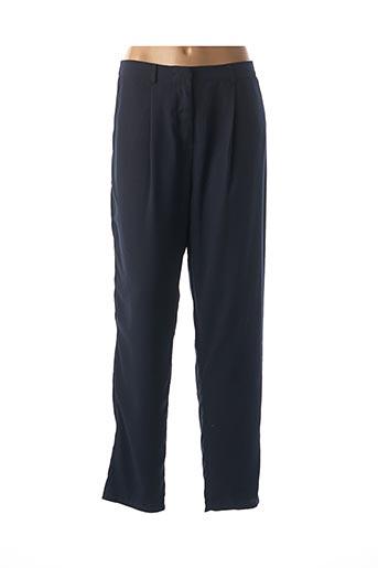 Pantalon casual bleu AKOZ DE TOI pour femme