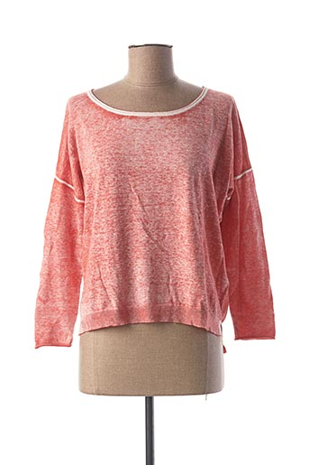 Pull col rond rose ET COMPAGNIE pour femme