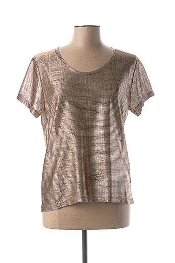 Top beige I.CODE (By IKKS) pour femme