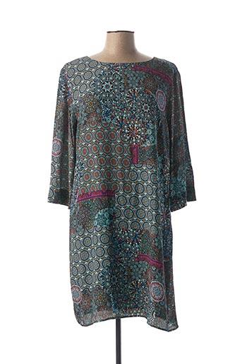 Robe courte vert DESIGUAL pour femme