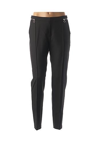 Pantalon chic noir I.CODE (By IKKS) pour femme