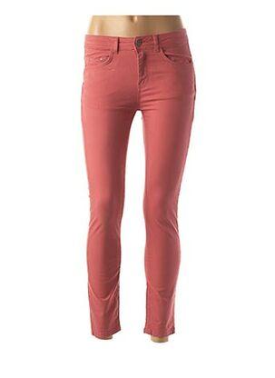 Pantalon casual rouge ET COMPAGNIE pour femme