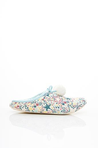 Chaussons/Pantoufles bleu WHITE STUFF pour femme