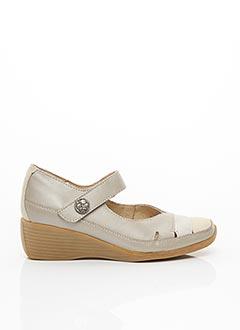 Chaussures de confort gris LUXAT pour femme