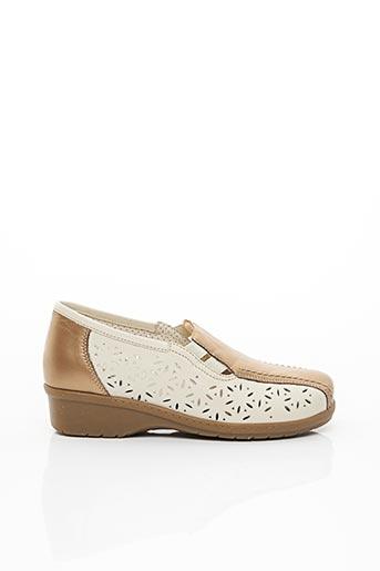 Chaussures de confort beige ARA pour femme