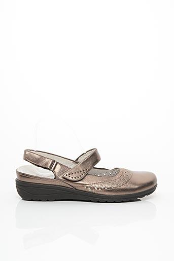 Chaussures de confort rose ARA pour femme