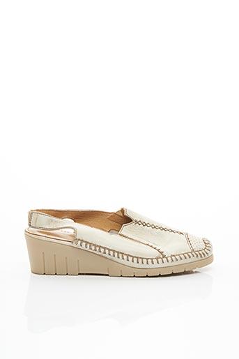 Chaussures professionnelles beige LUXAT pour femme
