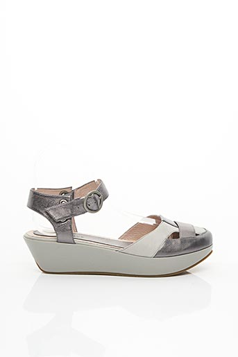 Sandales/Nu pieds beige FUGITIVE BY FRANCESCO ROSSI pour femme