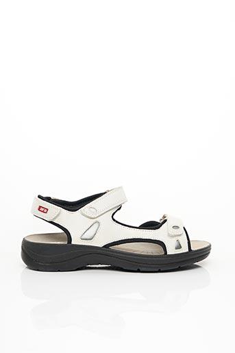 Sandales/Nu pieds blanc ARA pour homme