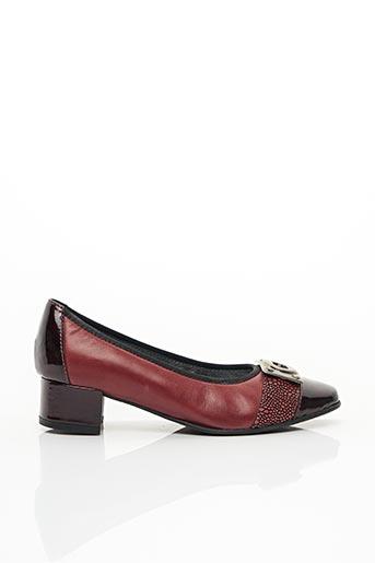 Escarpins rouge J.METAYER pour femme