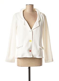 Veste chic / Blazer blanc LO! LES FILLES pour femme