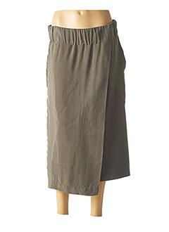 Jupe longue vert CREA CONCEPT pour femme