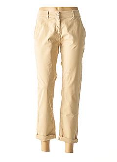 Pantalon casual beige ANANKE pour femme