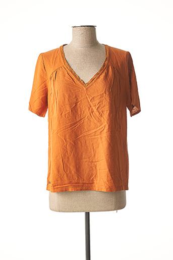 Top orange OXBOW pour femme