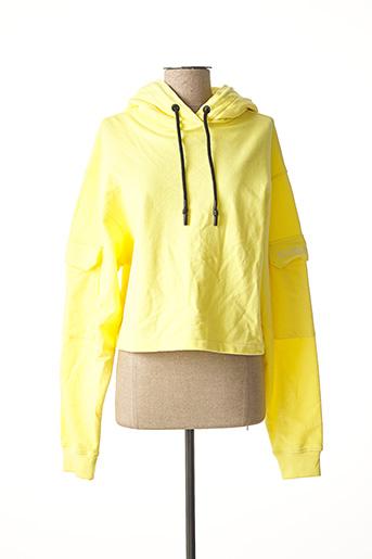 Sweat-shirt jaune GERTRUDE + GASTON pour femme