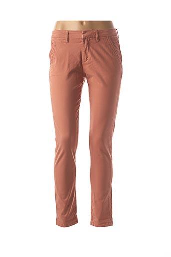 Pantalon casual rose REIKO pour femme