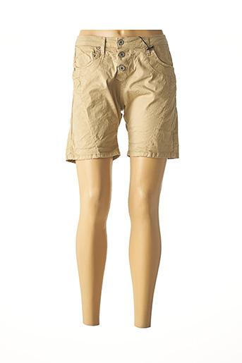 Short beige PLEASE pour femme