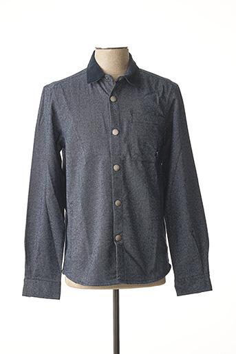 Veste casual bleu BARBOUR pour homme