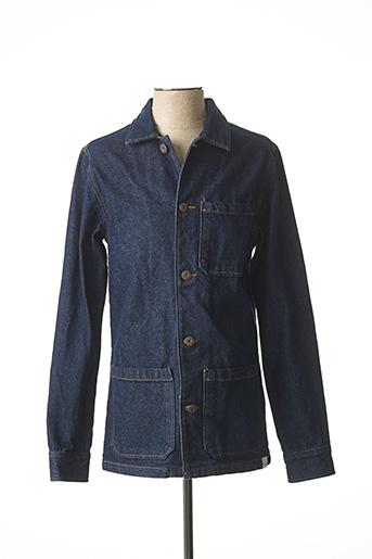 Veste en jean bleu ONLY&SONS pour homme